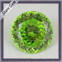 Новая мода Gemstone высокого качества Apple Зеленый кубический цирконий