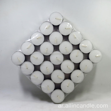 نذري شمعة tealight الملونة ل supplicator