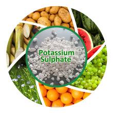Sulfate de potassium au pot de potassium