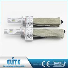 Farol de condução Lâmpada H1 H3 H7 H8 9005 9006 Super Branco Feixe Único 6500 K 4000LM Fanless Kit