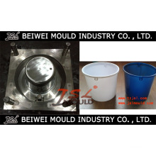 Molde de balde de água plástica durável