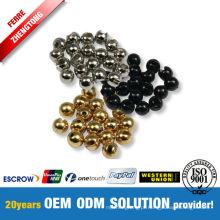Fabricação Fly Amarrando Tungstênio Slotted Beads