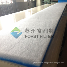 FORST Factory Manufacture Air Paint Filter Fiberglass for Spray Booth