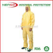 Roupa de proteção descartável médica Henso