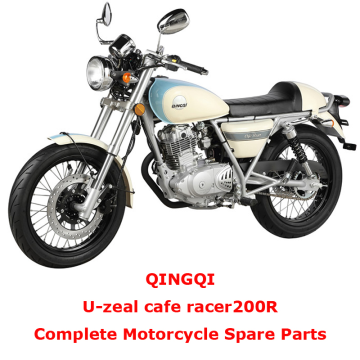 QINGQI cafe racer200R Complete Motorcycle Spare Parts