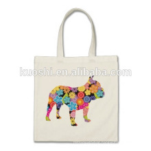 printed canvas tote backpack bag