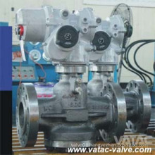 Pressure Balance Inverted Lubricated Plug Valve with Pneumatic Actuator