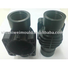 plastic product water valve design and processing