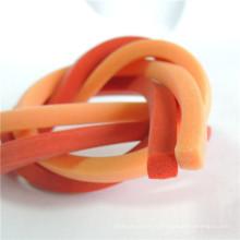Силиконовый резиновый шнур квадратной формы