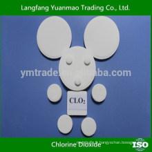 Tablette de dioxyde de chlore à prix réduits du fabricant chinois