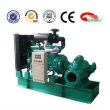 High pressure water pump powered by diesel