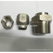 304 stainless steel precision casting coupling