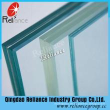 6,76 mm laminiertes Glas / PVB-Glas / geschichtetes Glas (klar, rot, weiß, blau, schwarz, Bronze)