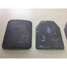 Placa antibalas NIJ IV UHMWPE y óxido de aluminio