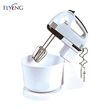 Plastic stand mixing bowl for electric mixer