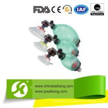 Resuscitadores manual de PVC de venda a quente (SKB-5C006)