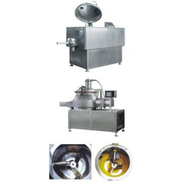 Cleaning type mixing and granulating machine