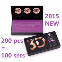 2015 Dernier nouveau paquet Natural Younique 3D Fiber Lashes +