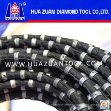 Huazuan Brand Diamond Wire Cutting Rope for Granite Marble Cutting