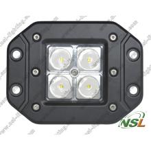 Светодиодная рабочая лампа 12 В 24 В, Водонепроницаемая светодиодная рабочая лампа 16 Вт, Светодиодная рабочая лампа IP67 с маркировкой CE, RoHS