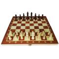 Schachbrett Schachspiel Kind Bildung Spielzeug aus Holz Spiel Schach