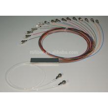 2X 16 PLC de un solo modo 1310/1550 divisor de fibra óptica para Fttp / FTTH
