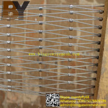 Stainless Steel Rope Net for Zoological Garden Enlcosures