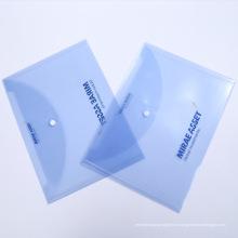 Рекламный логотип Напечатанный пакет документов для документов A4 (обложка)