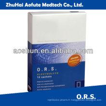 Rehydratation orale Sel
