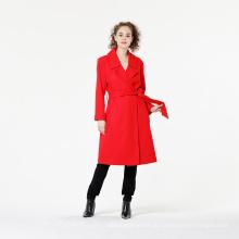 Hochwertiger Damen Revers Outwear Mantel