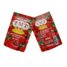 Sachet Tomato Paste Tmt, Vego, Fine Tom Brand Tomate Processing