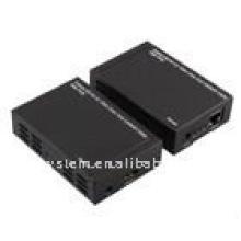 Verlängere HD AV auf 100m über ein Cat5e / 6 Kabel mit POE