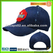 Embroidery patch frayed baseball cap BC-0102