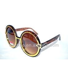 2014 factory wholesale round shape sunglasses with gradient lens