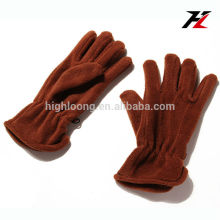 Good quality men fleece gloves for outdoor sports