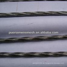 5.0-12mm verdrehtes Stahlstab-Baumaterial