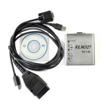 Scanner USB Elm327 Metal v 1.5 Obdii Elm327 ferramenta de diagnóstico