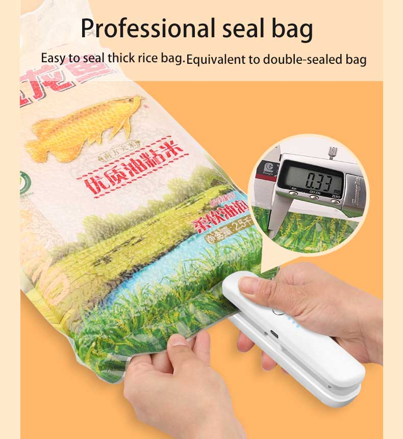 Portable Bag Sealer And Cutter