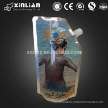 Ламинированный материал носик верхняя часть тела скраб упаковка / bady грязь маска сумка