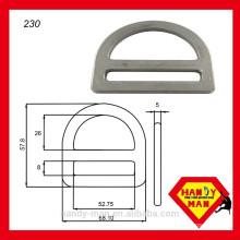 "230 Galvanized Steel 2"" Single Slot D-ring"