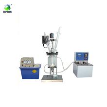 High quality lab process glass reactor 1000ml glass reactor