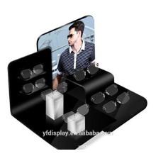 Schwarzer Acrylglas-Präsentationsständer für Verkauf