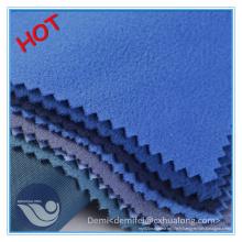 Tissu à tricoter 100% polyester brossé Tricot