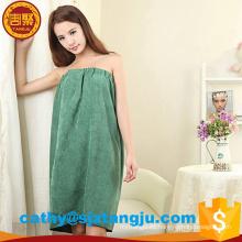 Toallas de toalla de baño del hotel Super Soft, vestido de toalla de baño de microfibra