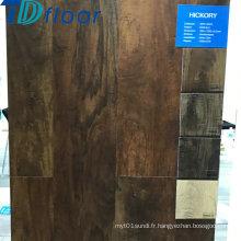 Matériau de construction vente chaude plancher en bois composite en plastique de plancher de grande taille de WPC