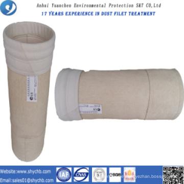 Nonwoven Aramid-Staub-Kollektor-Filtertüte für Wasserkraftwerk