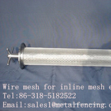 Wire mesh for inline mesh element