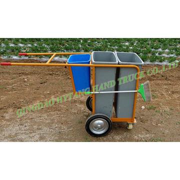 sanitation vehicle cleaning dust cart garbage truck wheelbarrow WB9904
