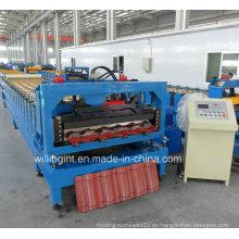 Stahlblech Dachziegel Rollformmaschine Maschine China
