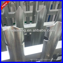 hot dipped galvanized W palisade fencing